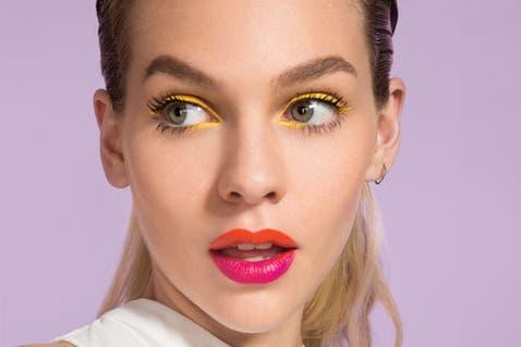 Make up en clave arcoíris