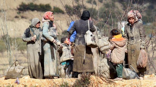 Casi la mitad de la población siria de 23 millones, antes de la guerra, ha sido desplazada por el conflicto