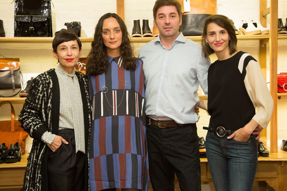 Ana Torrejón y Marcelo Cantón, Director Creativo de Mishka recibieron a las invitadas.