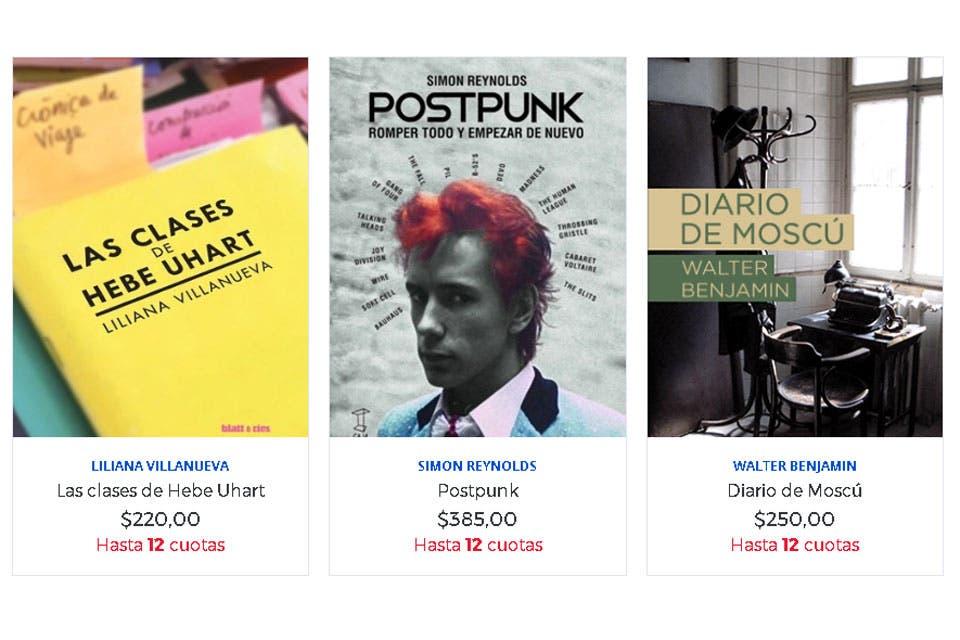 Buenos Aires tiene cada vez más sitios no tradicionales donde comprar libros. Pequeños espacios que, aunque no se vean, ofrecen una literatura celosamente seleccionada al alcance de un clic.