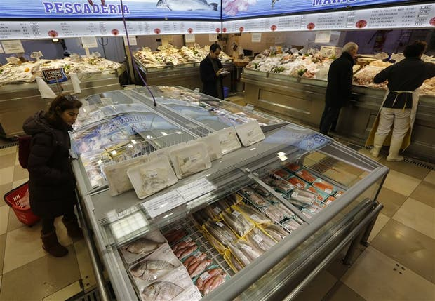Un centenar de pescados en exhibición cada día en Asia Oriental