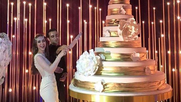 Es rusa, tiene 22 años y se casó en una boda que a su papá le costó 10 millones
