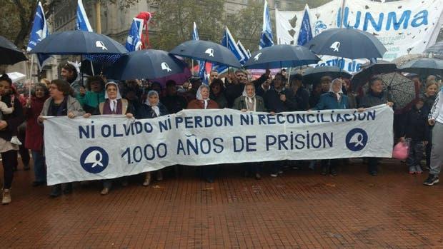 Las Madres marcharon a Plaza de Mayo