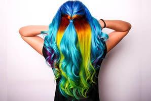 Look hecho por salón de peluquería Sicodélica Hair Art Peluquería Recoleta Buenos Aires