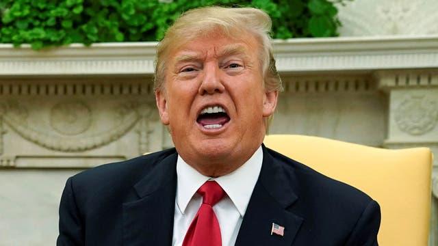 """Trump desmintió haber dicho """"países de mierda"""" al hablar de Haití y África"""