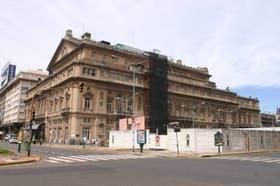 El teatro Cólon es uno de los iconos de la ciudad de Buenos Aires