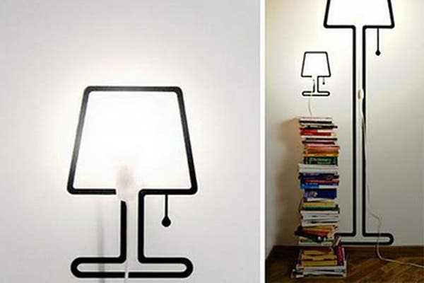 Con un poco de pintura podés armarte la lámpara que más te guste y ¡no ocupa lugar!. Foto: Bigkahunahawaii.blogspot.com.ar