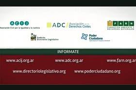 Las ONGs que promueven el spot difundido esta mañana