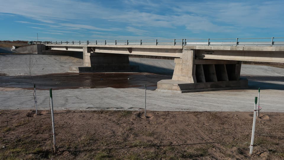 En las zonas de San Luis y Córdoba, donde no había señales de actividad hídrica en sedimentos en 28.000 años, surgieron al menos seis cuencas. Foto: LA NACION / Diego Lima