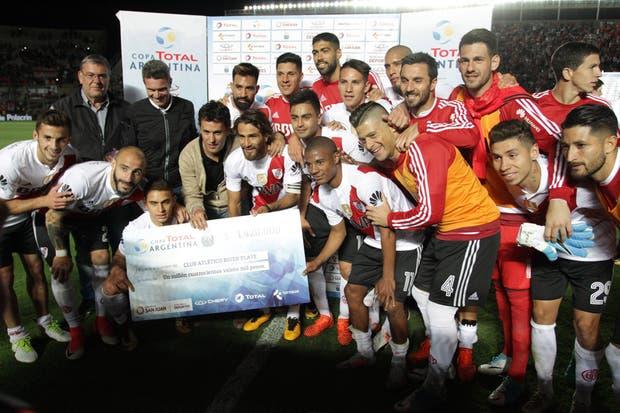 River se aseguró 1.420.000 pesos por su clasificación a las semifinales de la Copa Argentina