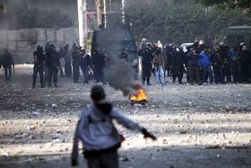 El descontento de la gente derivó en nuevos incidentes en la plaza Tahrir