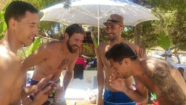 Cuatro históricos del básquet argentino en Ibiza