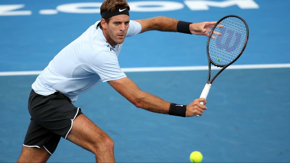 Juan Martín del Potro perdió en tres sets con Bautista Agut en la final de Auckland
