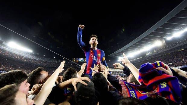La foto de Messi que se convirtió en un ícono