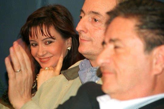 En 1998, cuando el matrimonio Kirchner era aliado de Eduardo Duhalde. Foto: Archivo