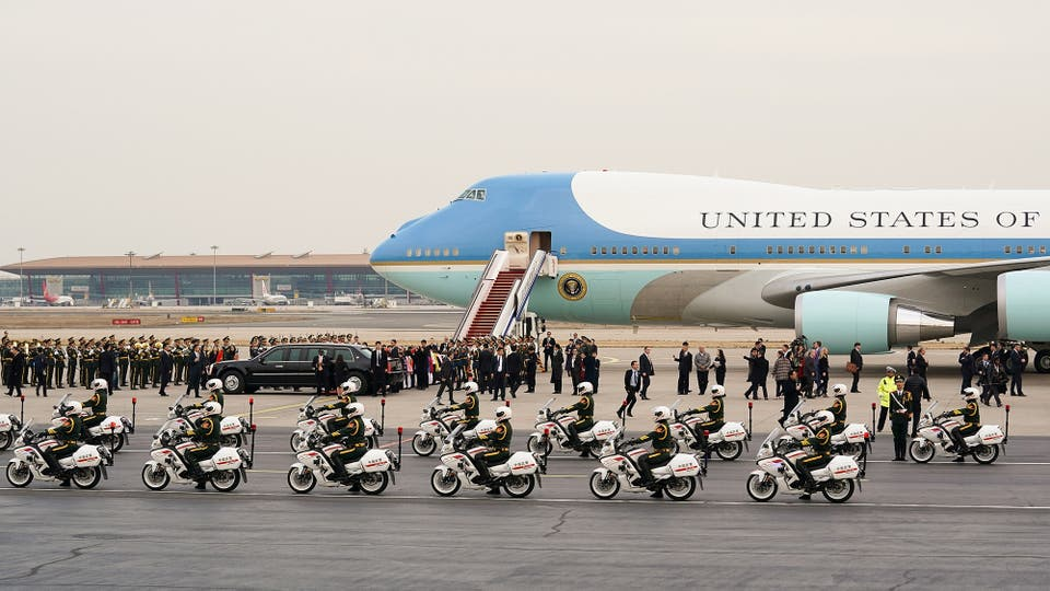 Donald Trump visita China en el marco de la gira por cinco países de Asia. Foto: Reuters / Lintao Zhang