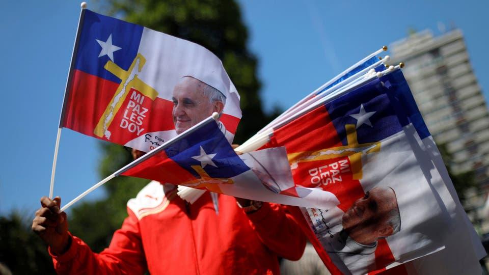 EN VIVO. Sigue la llegada del papa Francisco a Santiago de Chile