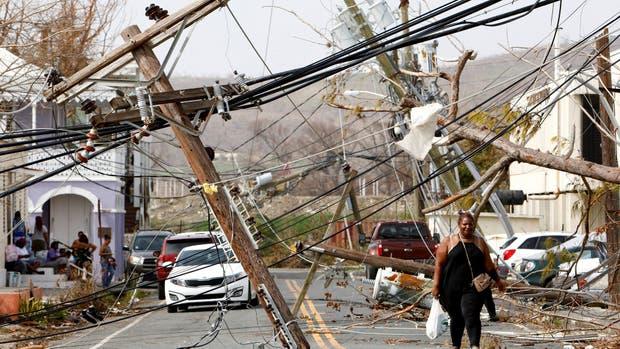 El huracán María causó estragos en las islas Vírgenes de EE.UU.