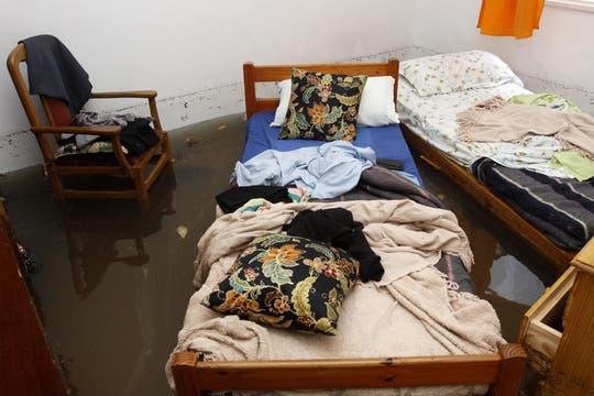 Más de 155 milímetros de agua acumulados en menos de 7 horas afectaron varias zonas de la Capital Federal y el conurbano. Foto: DyN