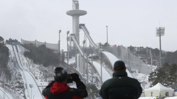 El centro de esquí de Pyeonchang, sede en 2018