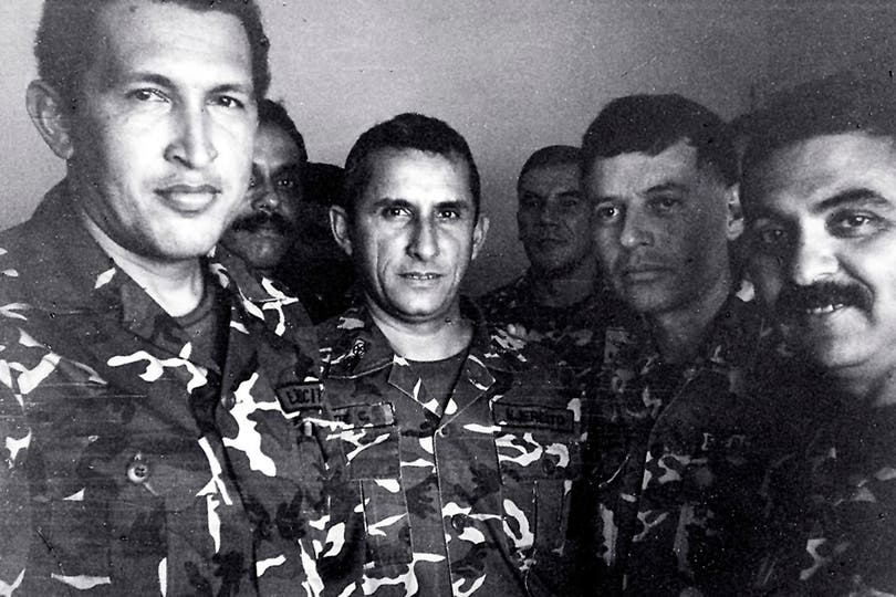 En 1992 cuando es detenido por un intento de golpe de estado. Foto: Reuters