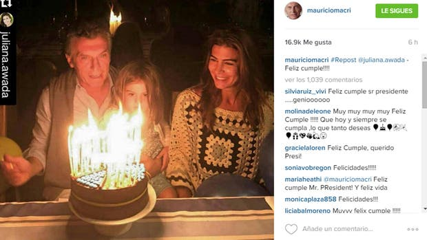 y si hacemos Top al Cumpleaños de Macri (Nuestro Presidente)