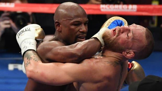 Mayweather, feroz sobre el rostro de McGregor
