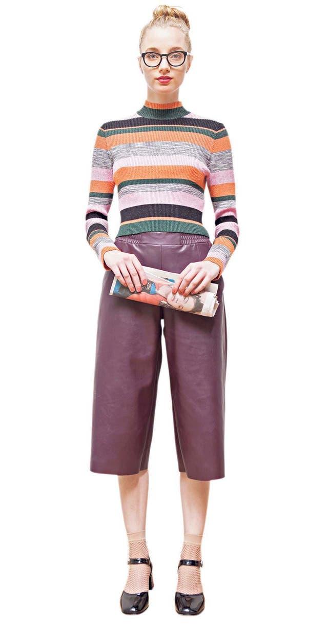 El pantacourt es un pantalón trendy, muy cómodo, que bien puede usarse en próximos inviernos