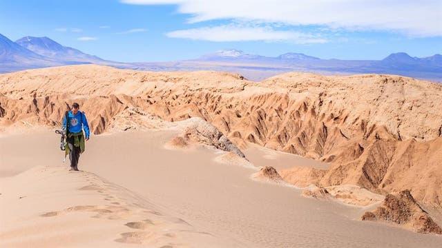 Sandboard en el desierto de Atacama: Chile se llevó el premio como mejor destino de turismo aventura