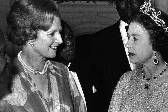 En 1979, durante una reunión con la Reina Elizabeth II. Foto: Archivo