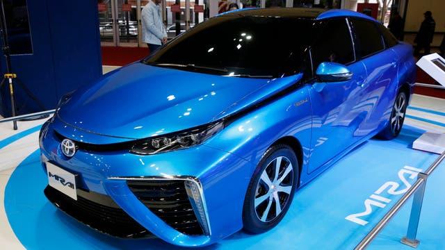 El Toyota Mirai utiliza el hidrógeno como combustible