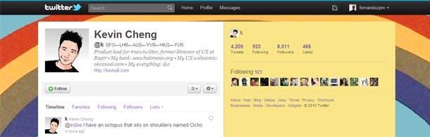 Una captura de pantalla del nuevo sitio tomando como ejemplo el perfil de Cheng