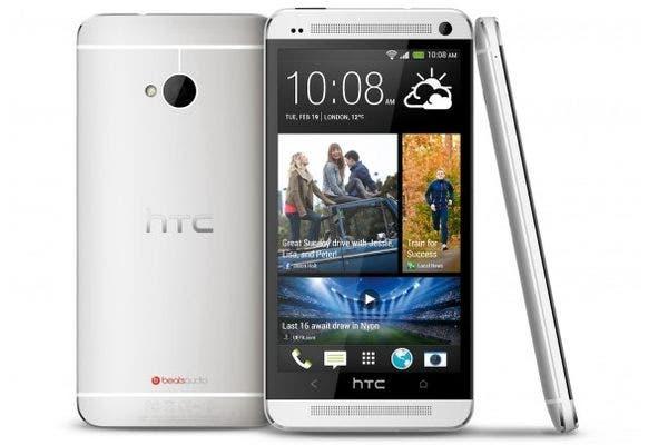 Un HTC One, con cámara de 4 megapixeles pero sensor de mayor tamaño al usual