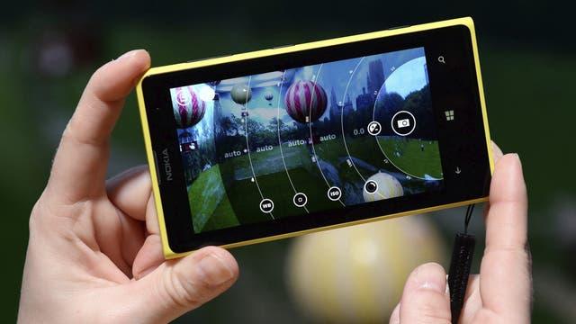 Un Nokia Lumia 1020, anunciado en 2013
