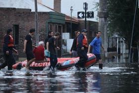 La Plata, una ciudad bajo el agua