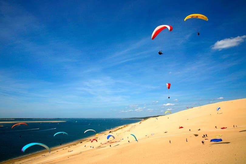 Playa Corniche, La Teste-De-Buch, Francia. Foto: National Geographic
