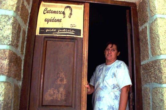 La Madre de María Soledad, Ada Rizzardo de Morales, nunca dejó de reclamar justicia. Foto: Archivo