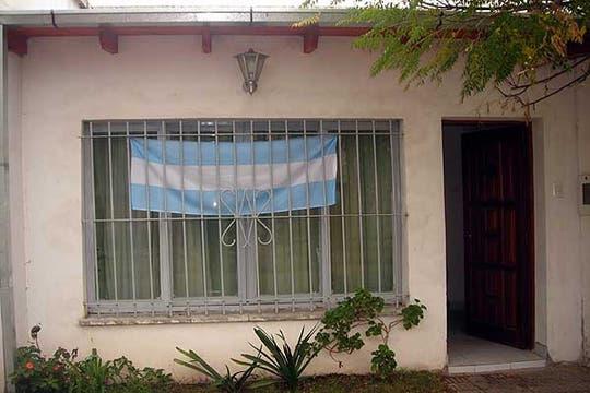 La foto corresponde a la casa de María. Foto: LA NACION LINE
