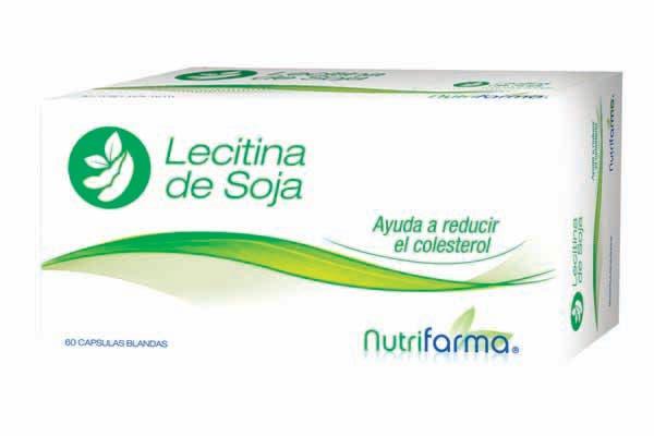 Lecitina de soja (Nutrifarma).