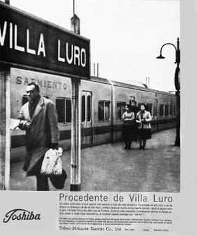 El aviso de los vagones del Sarmiento cuando eran nuevos hace 52 años, que salió en la revista Life el 23 de enero de 1961