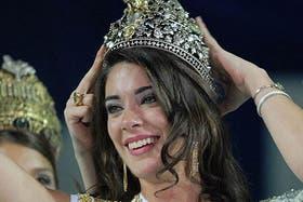 La Corona robada este pasado fin de semana se utilizó en las últimas ediciones de la Fiesta de la Vendimia de Mendoza