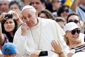 El Papa se refirió al hambre y condenó la cultura del desperdicio