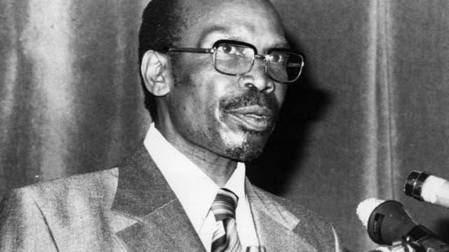 Seretse Khama murió siendo presidente de Botswana en 1980