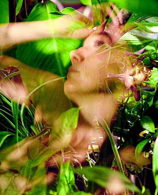 Una terraza, las plantas, el sol, los colores vivos, el agua