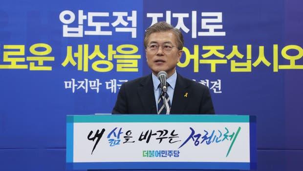 En medio de las amenazas de Kim Jong-un, Corea del Sur elige a su presidente