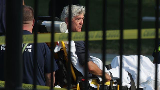 Roger Williams fue uno de los cinco heridos en el ataque