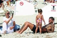 Mauro Icardi y Wanda Nara, vacaciones en modo lujo