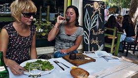 En el circuito gastronómico de Palermo hay varios lugares que ofrecen platos elaborados a base de ingredientes naturales, como Bio Resto
