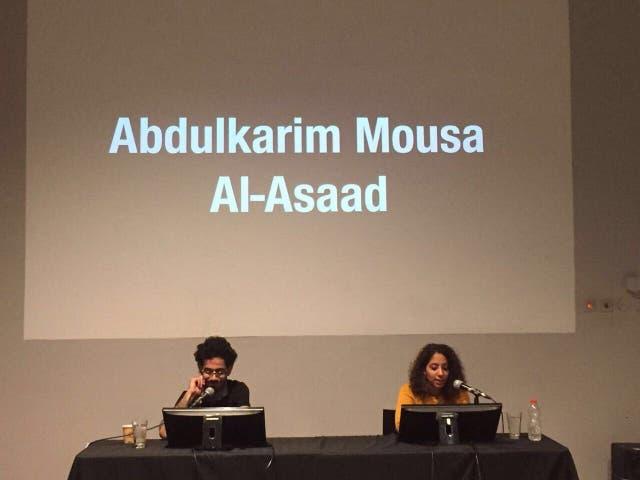 Performance social. Los nombres de los caídos en el conflicto sirio desde el 15 de marzo de 2011 hasta el 31 de diciembre de 2016, de Santiago Sierra, se leerán por horas en la BP17.