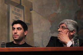 Facundo Moyano, el hijo del jefe de la CGT, votaría en contra de la reforma judicial, según Hugo, su padre